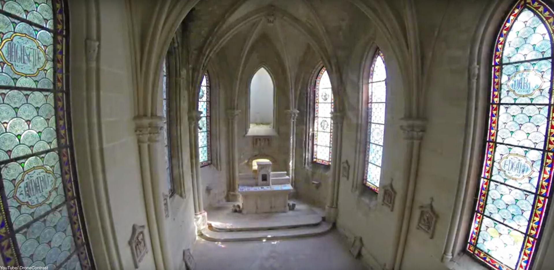 Château de la Mothe-Chandeniers chapel