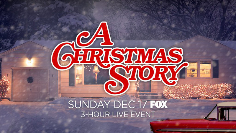 A CHRISTMAS STORY LIVE airs on Fox, Dec. 17.