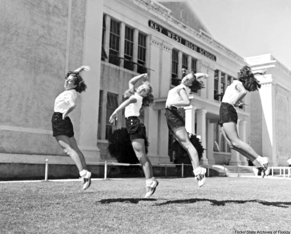1947 cheerleaders