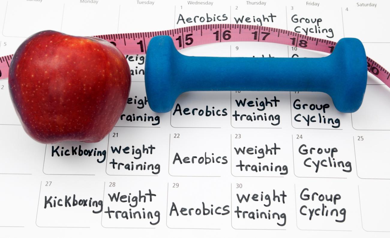 Healthy Lifestyle Calendar