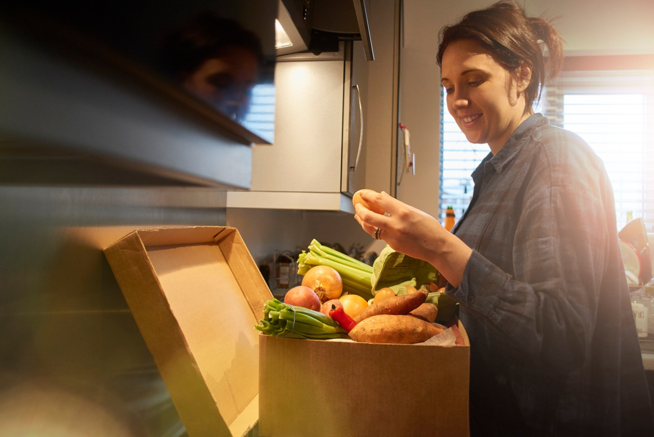 Organic food home delivery