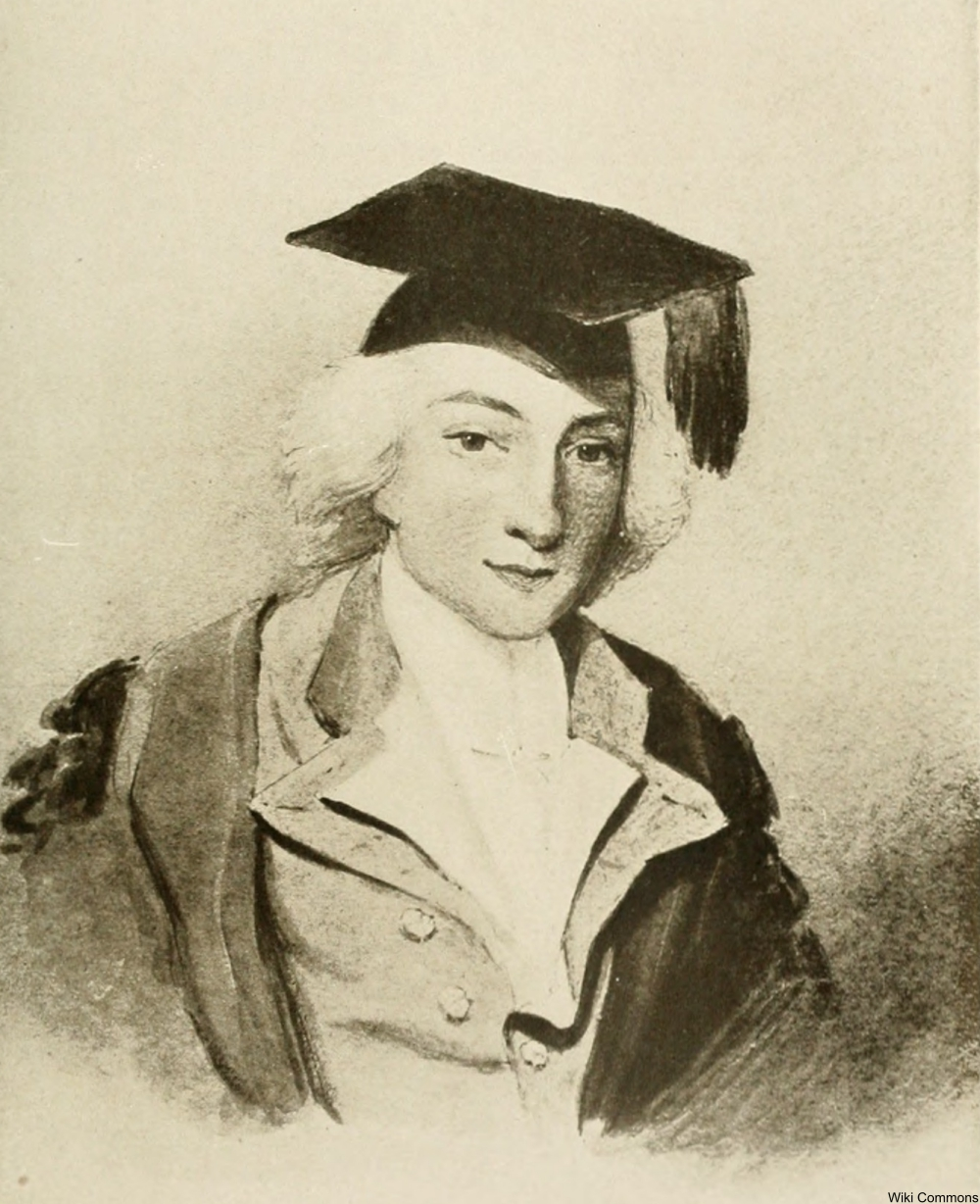 depiction of Smithson as a young graduate