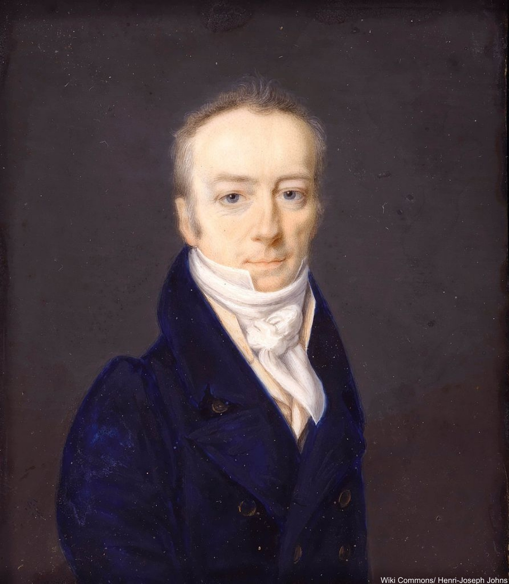 portrait of James Smithson in 1816