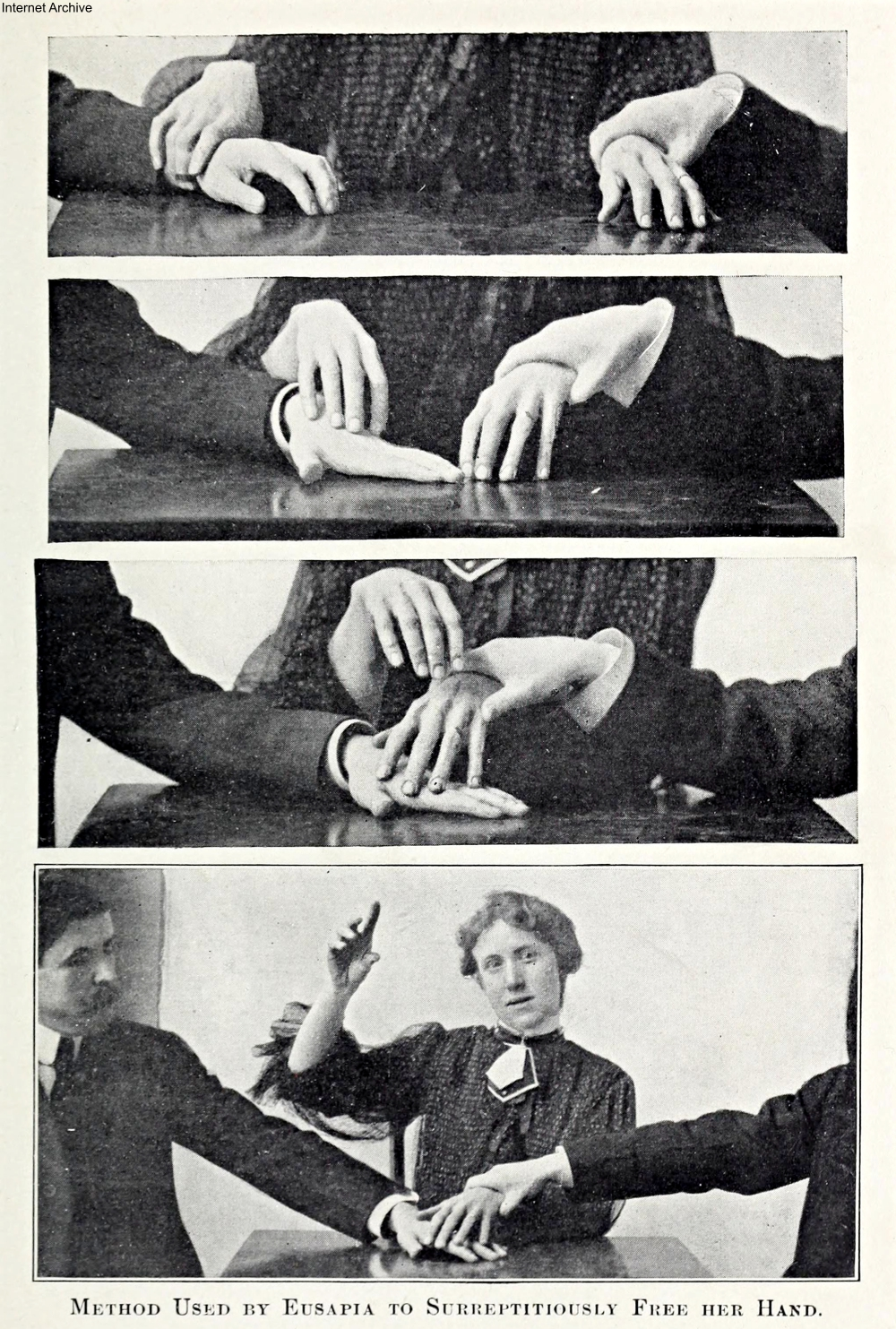 1907 book about psychics and fraud