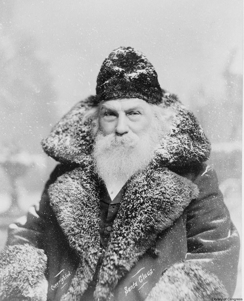 1890s Santa is quite somber