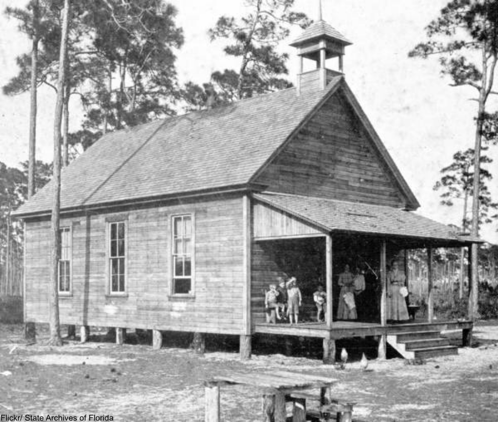 1890 schoolhouse, Fort Meyers, Florida