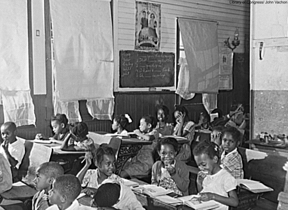 segregated school in Maryland 1940