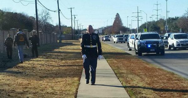 Source: Facebook/Marine Corps League Collin County Marine veteran Nathan Hanson.