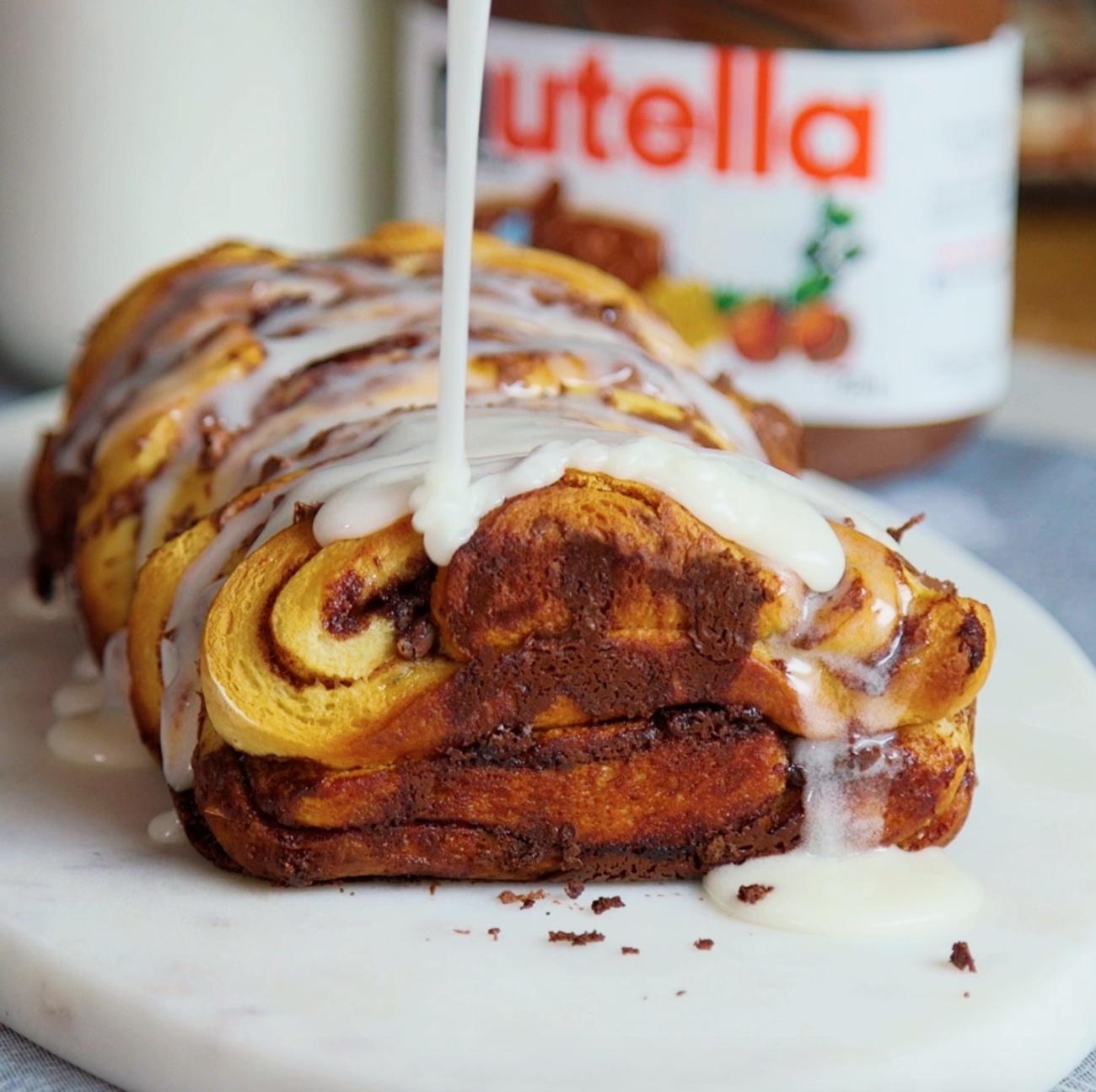 Chocolate Pull Apart Bread 1