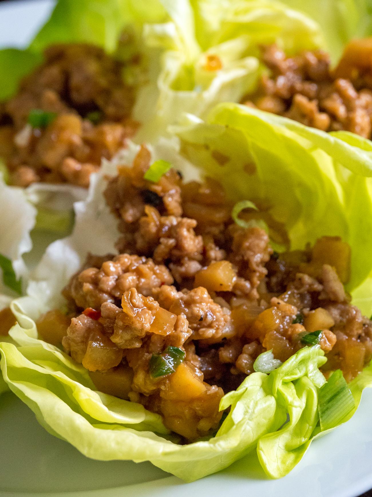 Copycat PF Chang's Lettuce Wraps Vertical 1