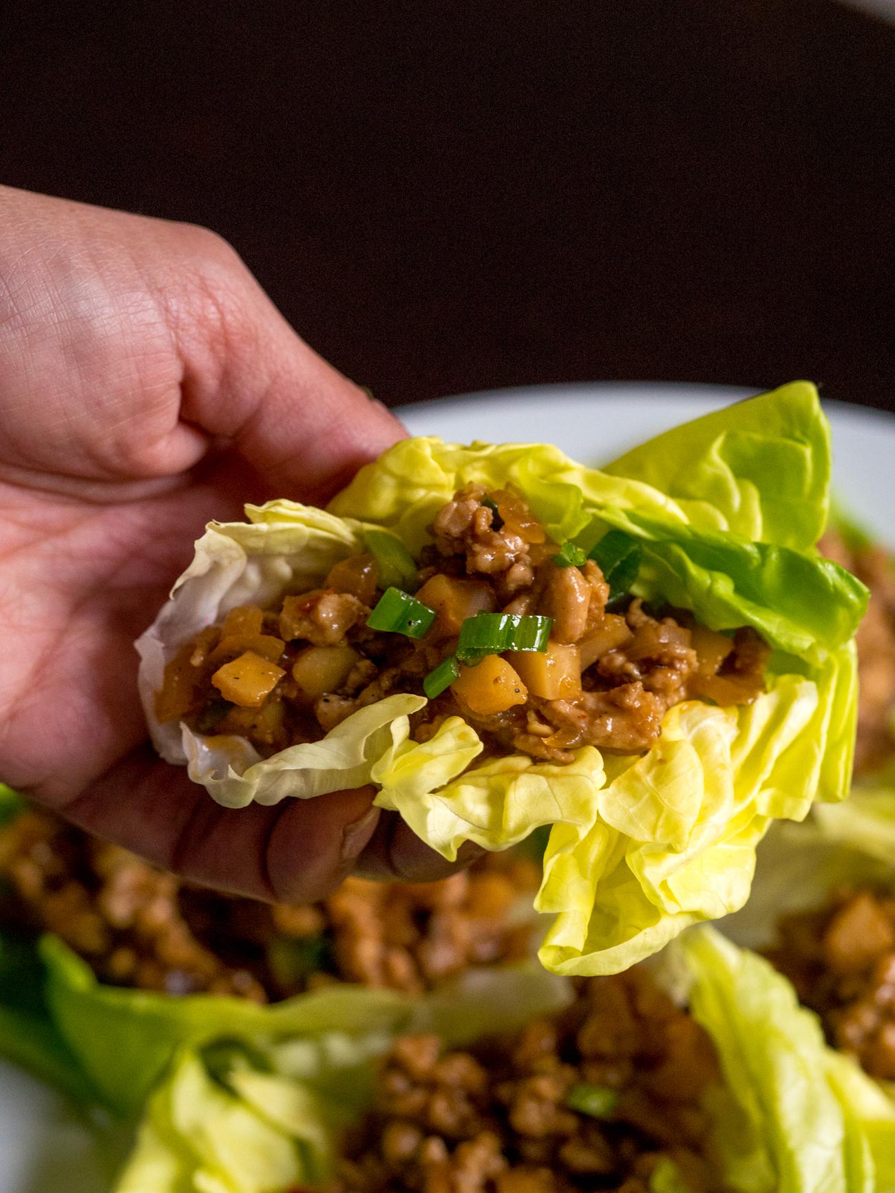 Copycat PF Chang's Lettuce Wraps Vertical 4