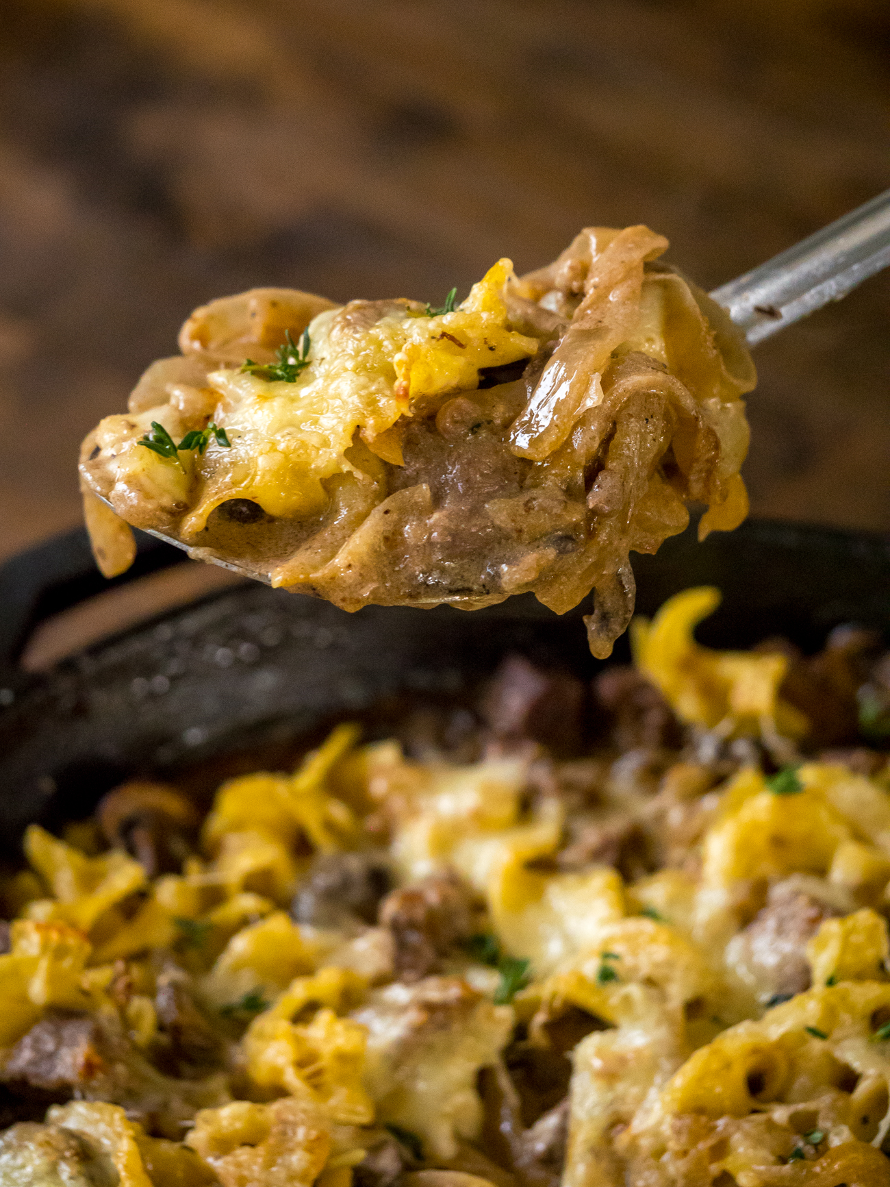 French Onion Beef Stroganoff Vertical 3
