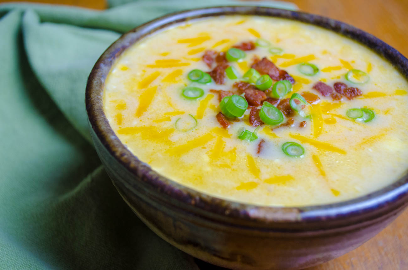 Instant Pot Potato Soup-5