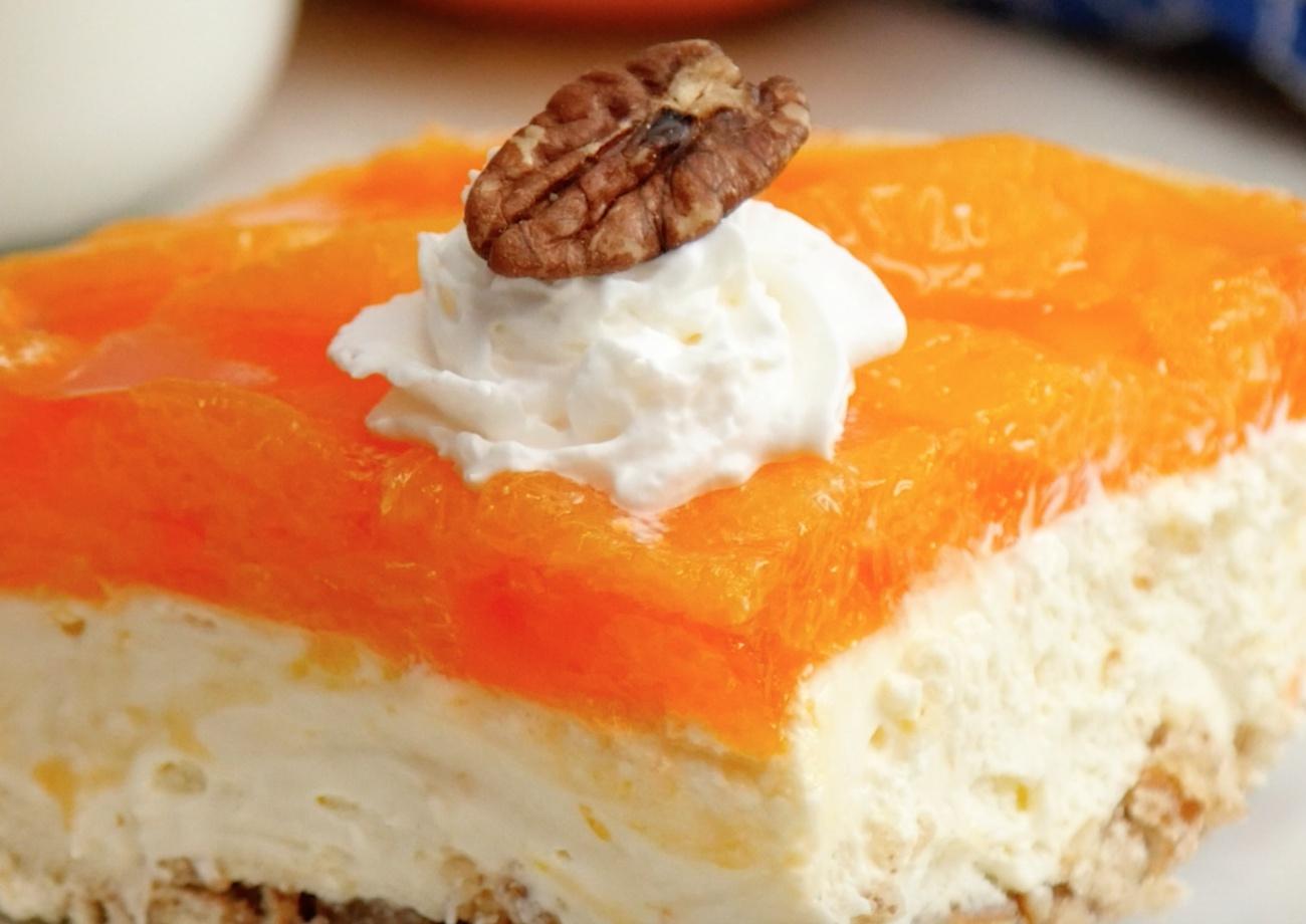 Pretzel Orange Lasagna 3
