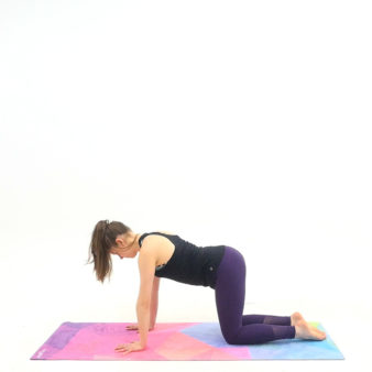 5-minute-yoga-Tabletop