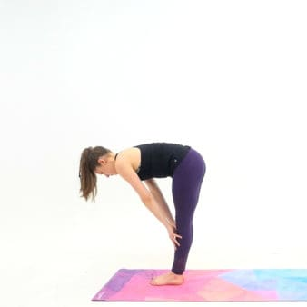 try this 5 minute yoga sequence that's perfect for every