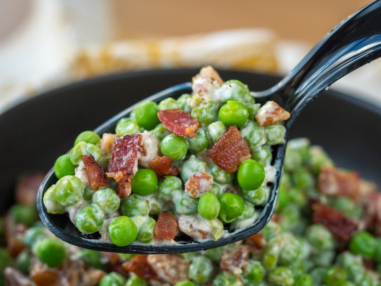 Bacon Pea Pecan Salad Horizontal 9