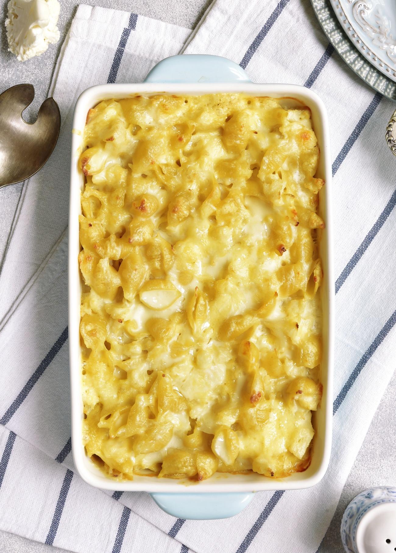 Cauliflower Mac and Cheese 1