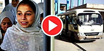 Click to watch the video about safe rides for school girls in Afghanistan!