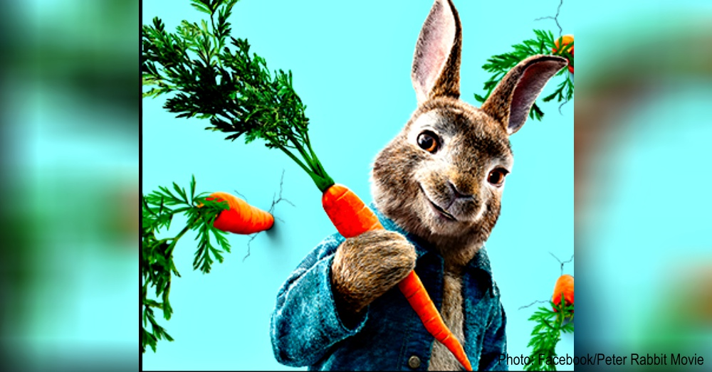 Photo:Facebook/Peter Rabbit Movie