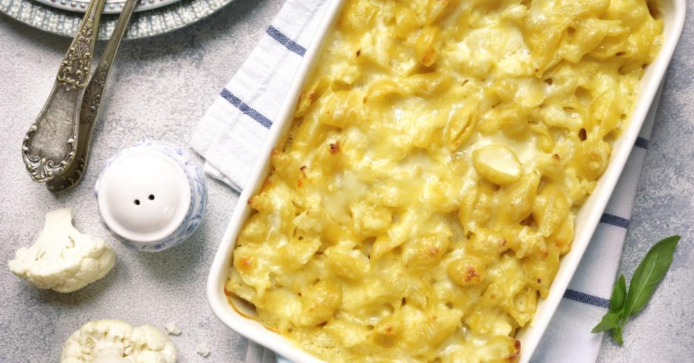 cauliflower mac and cheese og