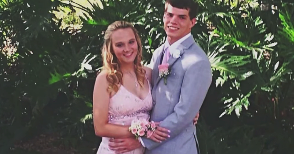 Dustin and Sierra prom picture