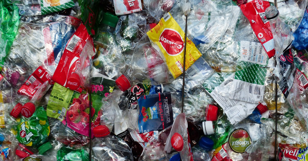 Source: PxHere The world's plastic trash is growing exponentially with each passing year.