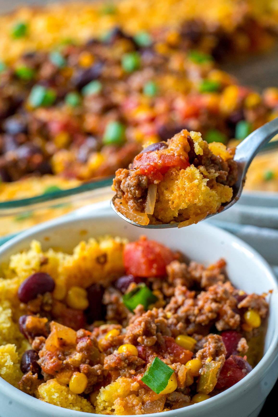 Chili Cornbread Casserole 12