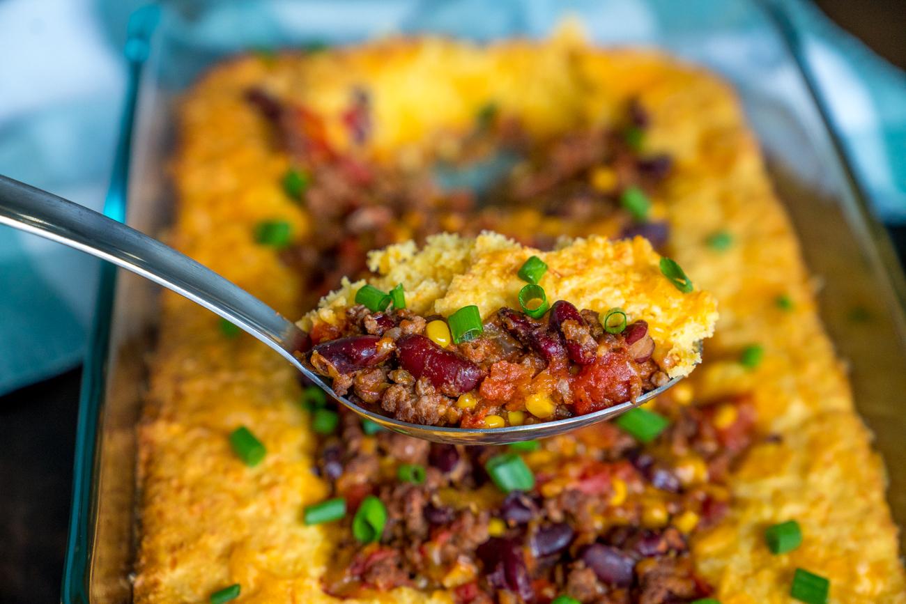 Chili Cornbread Casserole 8