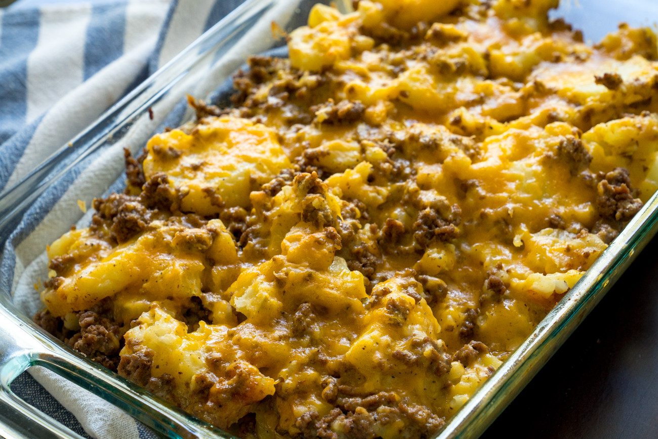 Instant Pot Cheesy Beef and Potatoes 4
