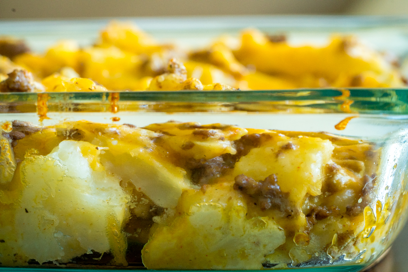 Instant Pot Cheesy Beef and Potatoes 8