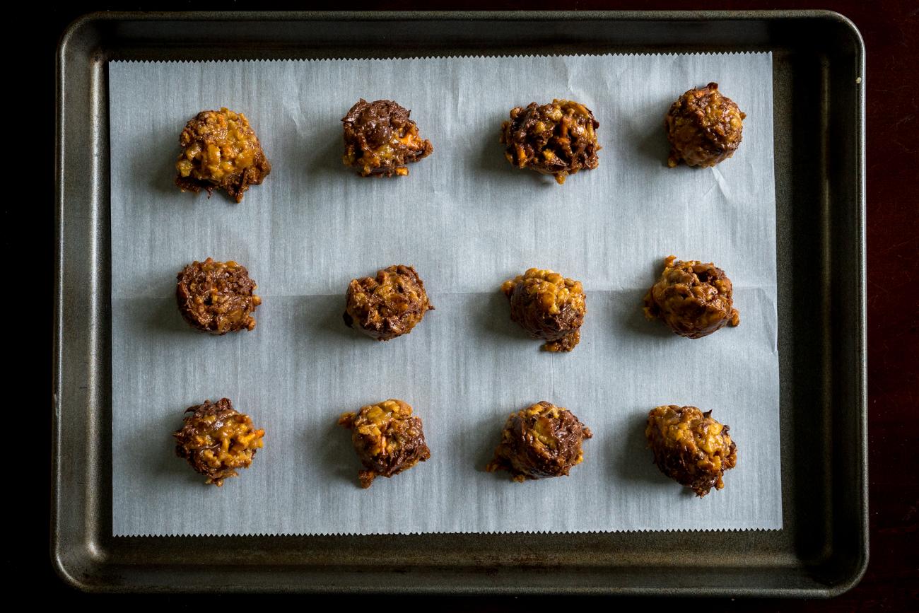 No-Bake Peanut Butter Pretzel Cookies 1