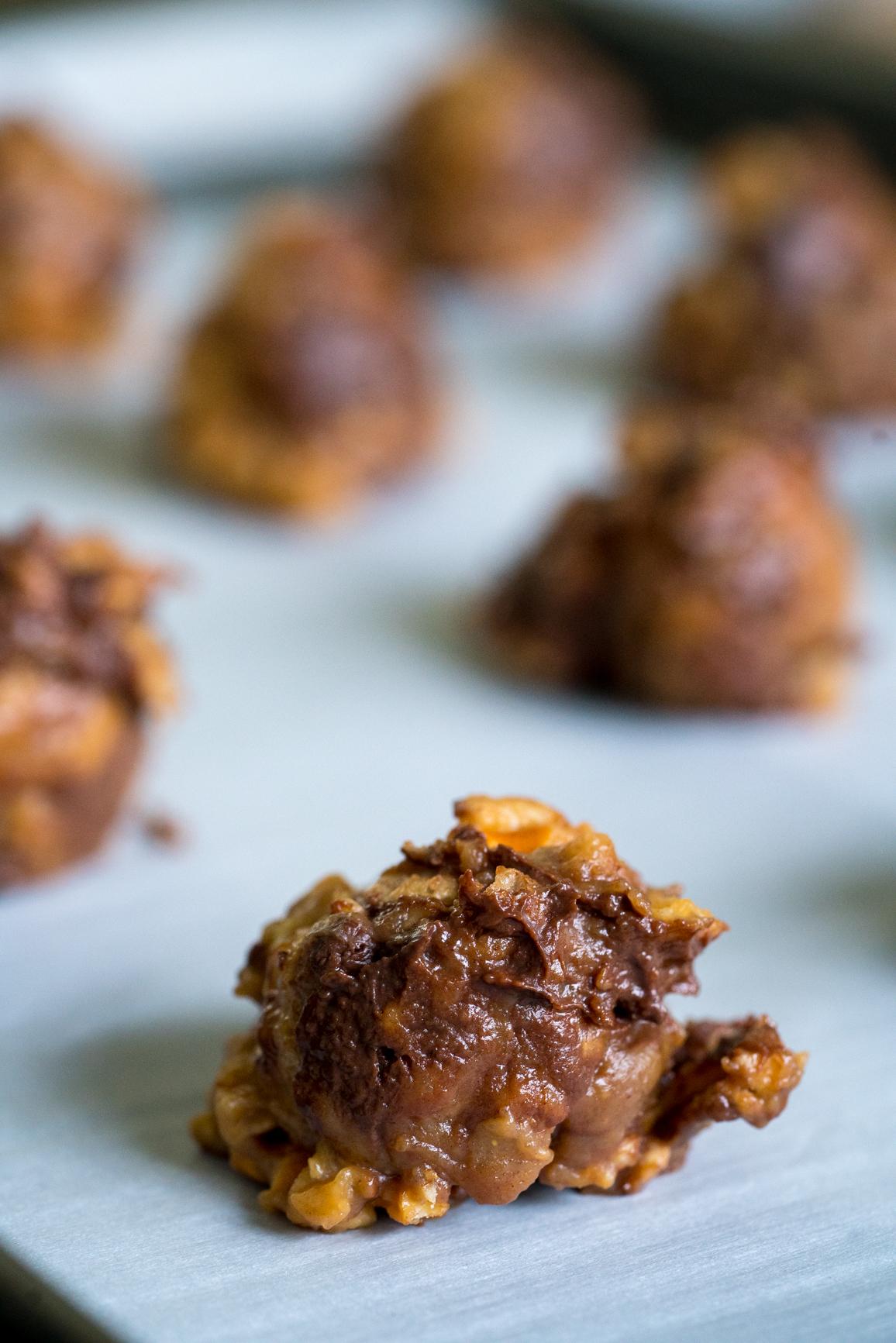 No-Bake Peanut Butter Pretzel Cookies 5