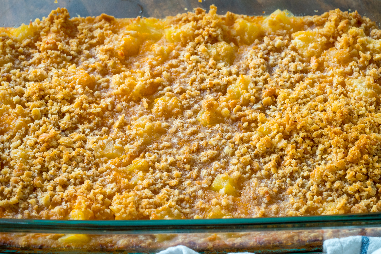 recipe: pineapple casserole recipe [25]