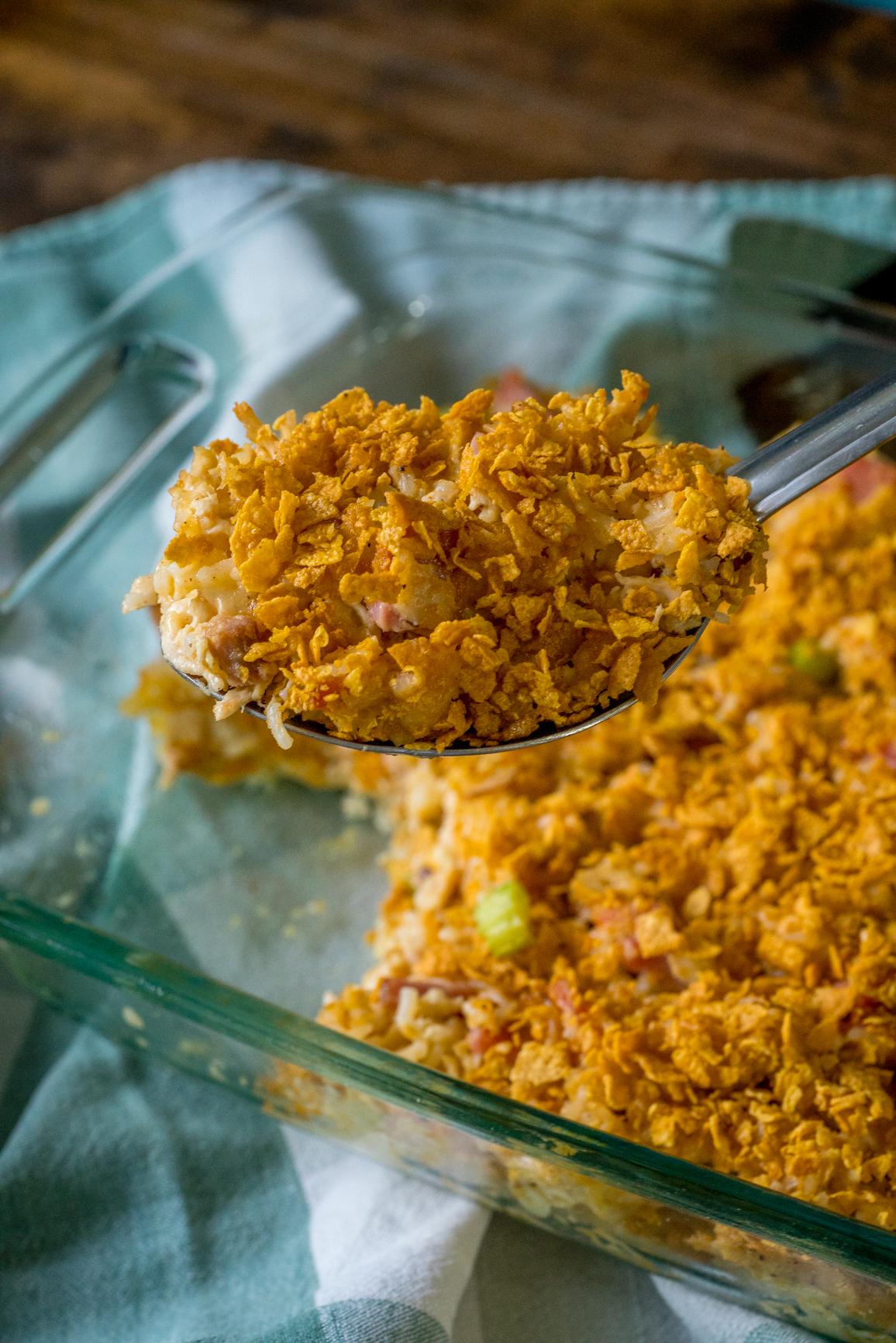 Rotisserie Chicken Casserole 5