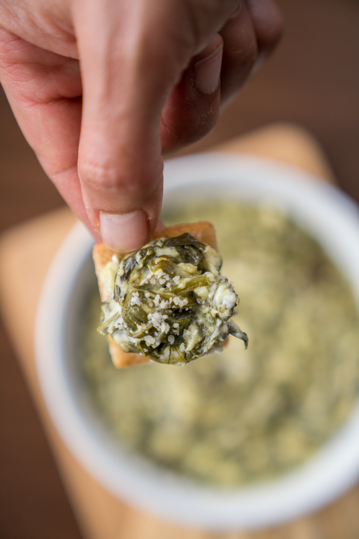Slow Cooker Spinach Dip Vertical (21 of 21)