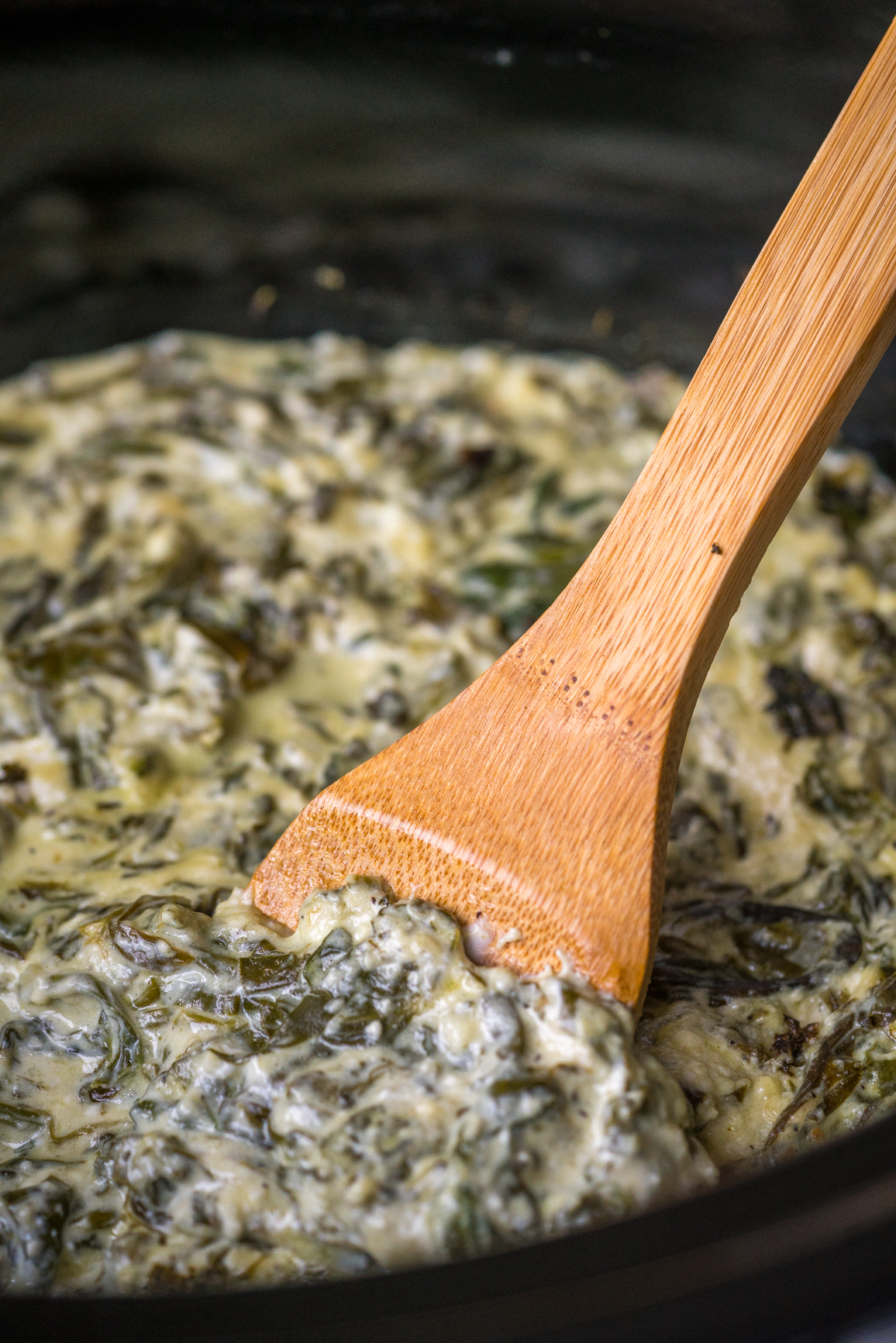 Slow Cooker Spinach Dip Vertical (4 of 21)