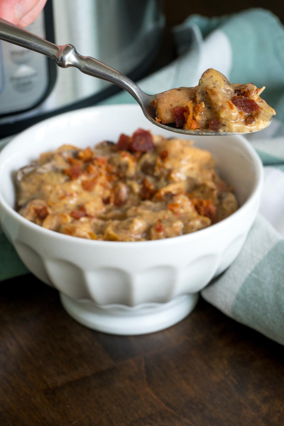 Instant Pot Bacon Honey Mustard Chicken 2