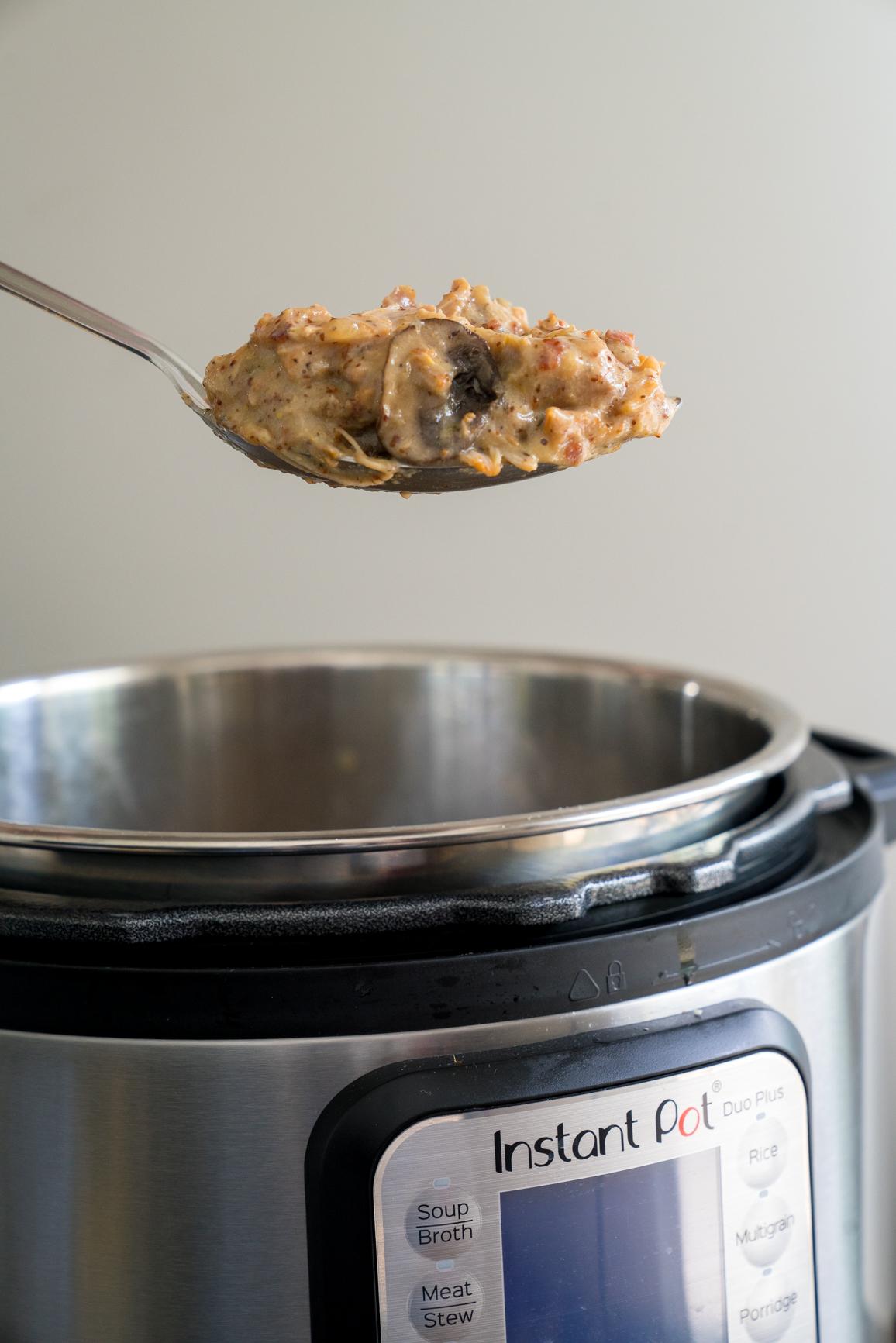 Instant Pot Bacon Honey Mustard Chicken 5
