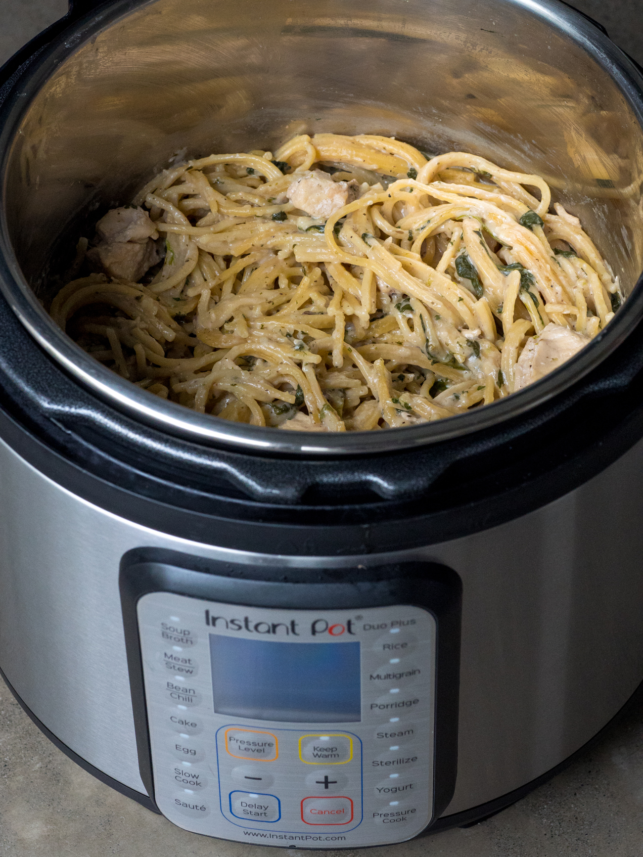 Instant Pot Chicken Florentine 6