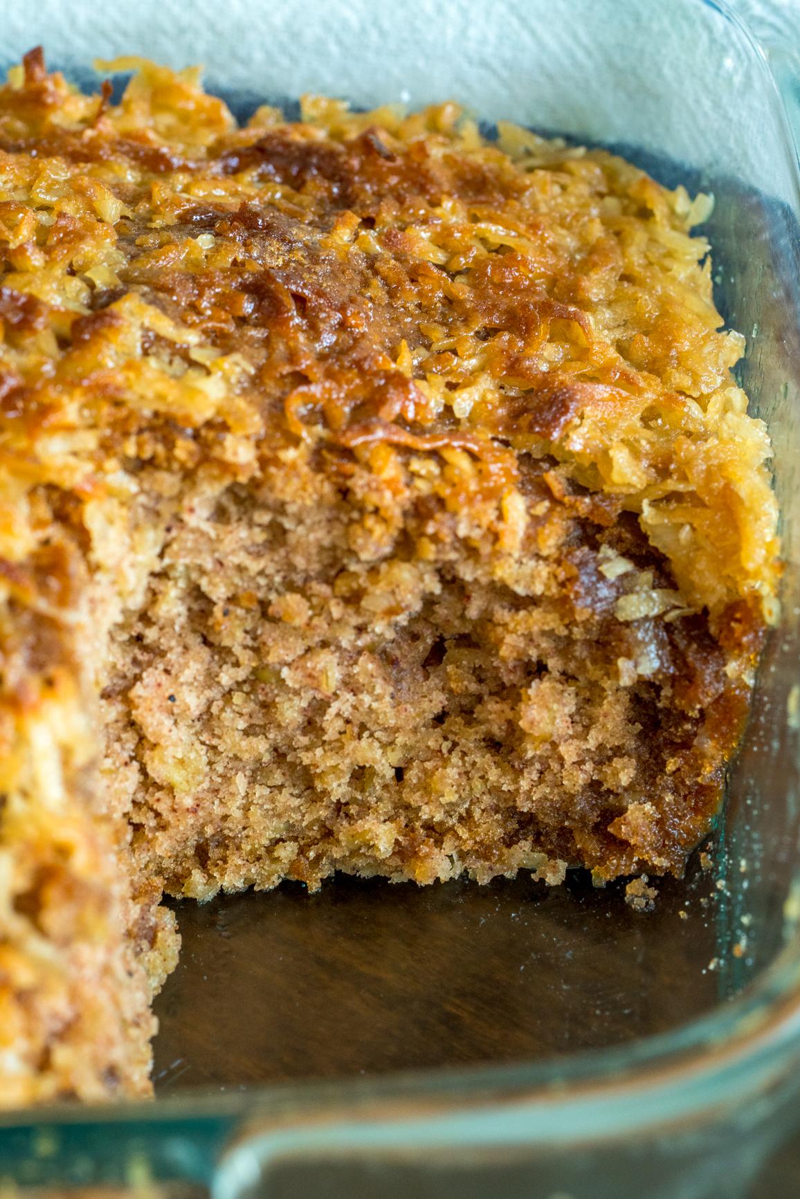 Lazy Day Oatmeal Cake 4