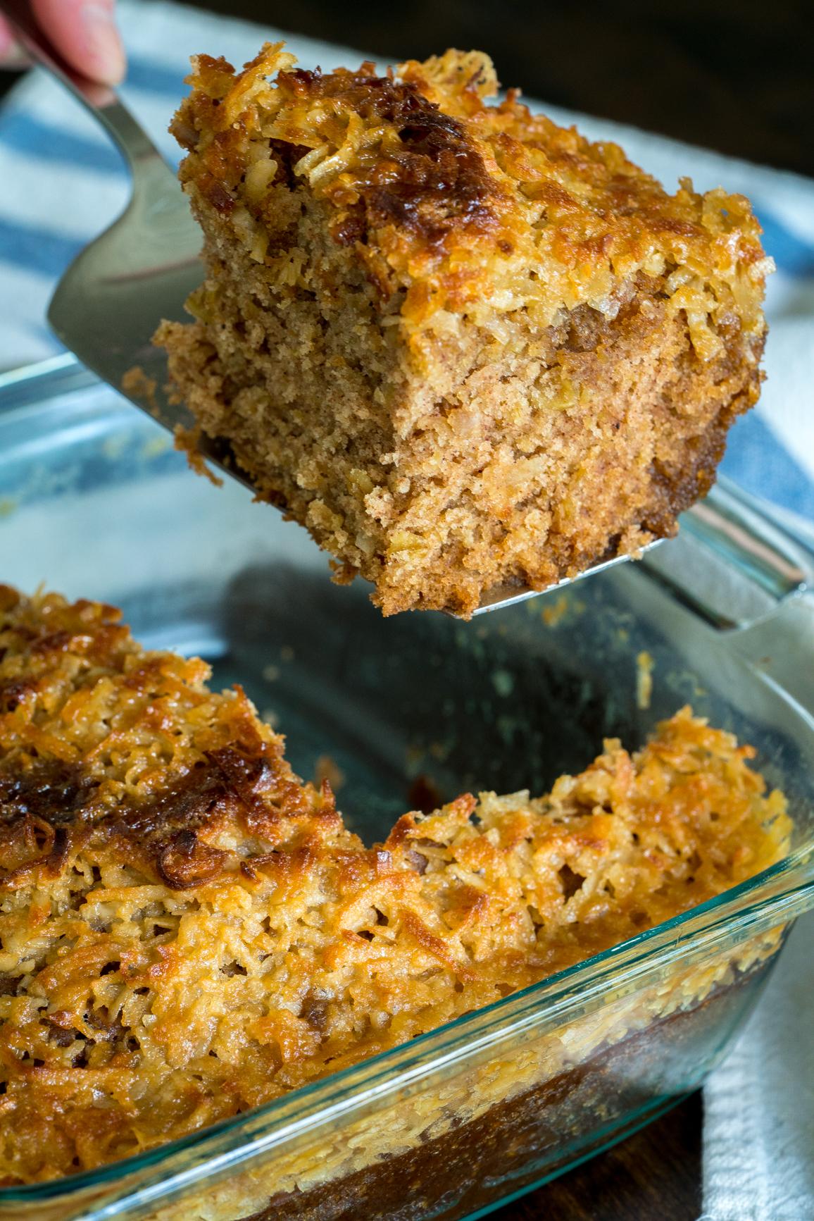 Lazy Day Oatmeal Cake 5