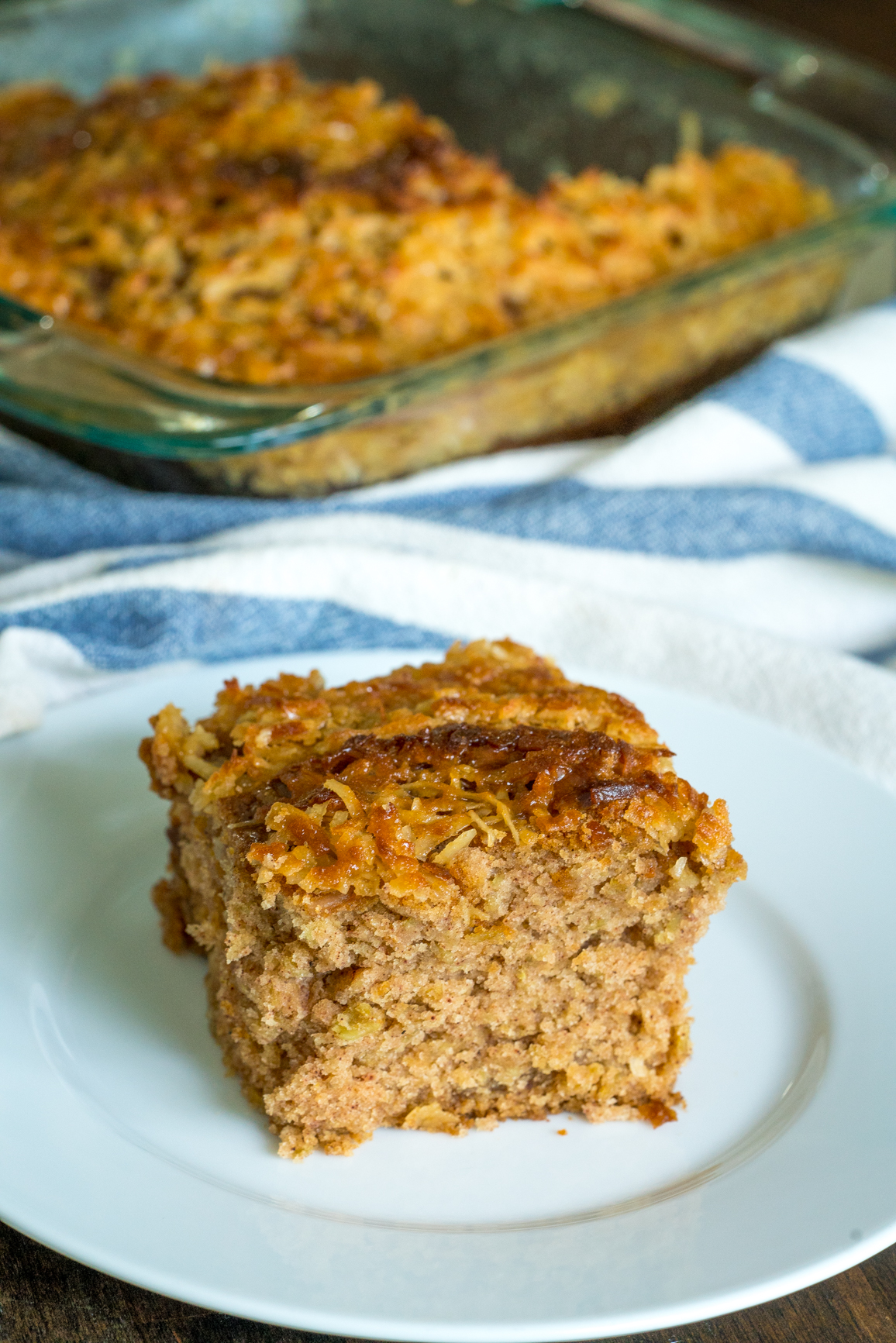 Lazy Day Oatmeal Cake 6