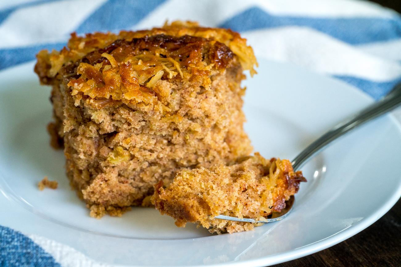 Lazy Day Oatmeal Cake 8