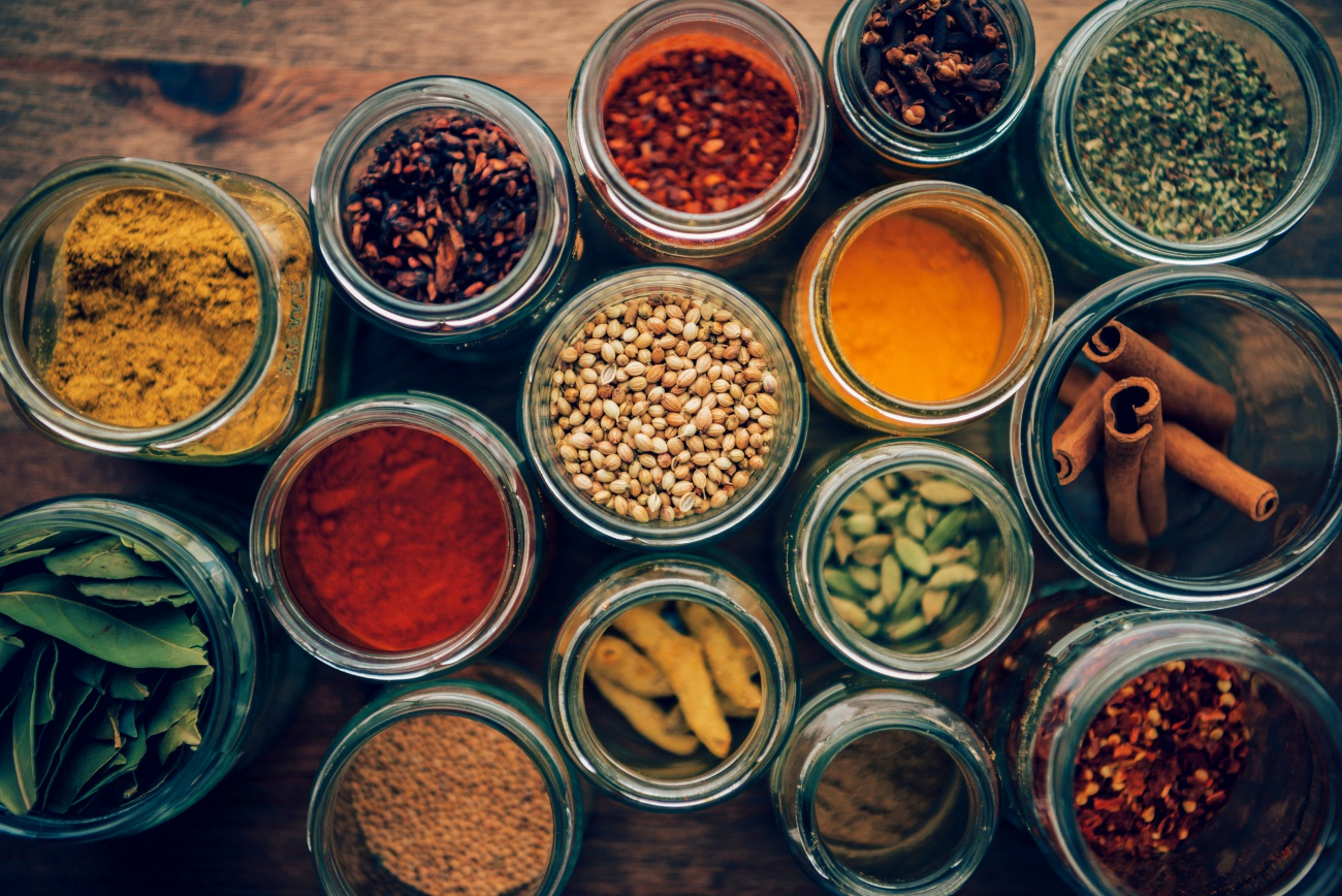 Overhead Spices