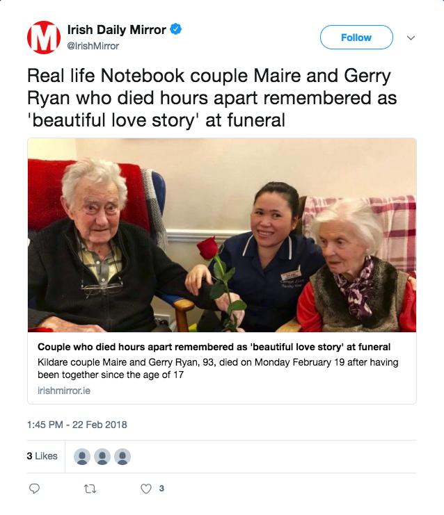 Photo: Twitter/Irish Daily Mirror
