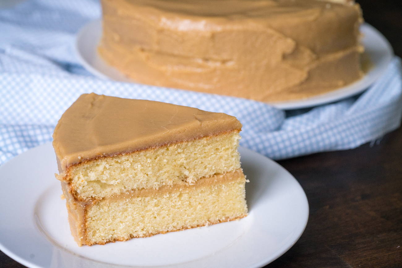 Southern-Style Caramel Cake Horizontal (6 of 13)