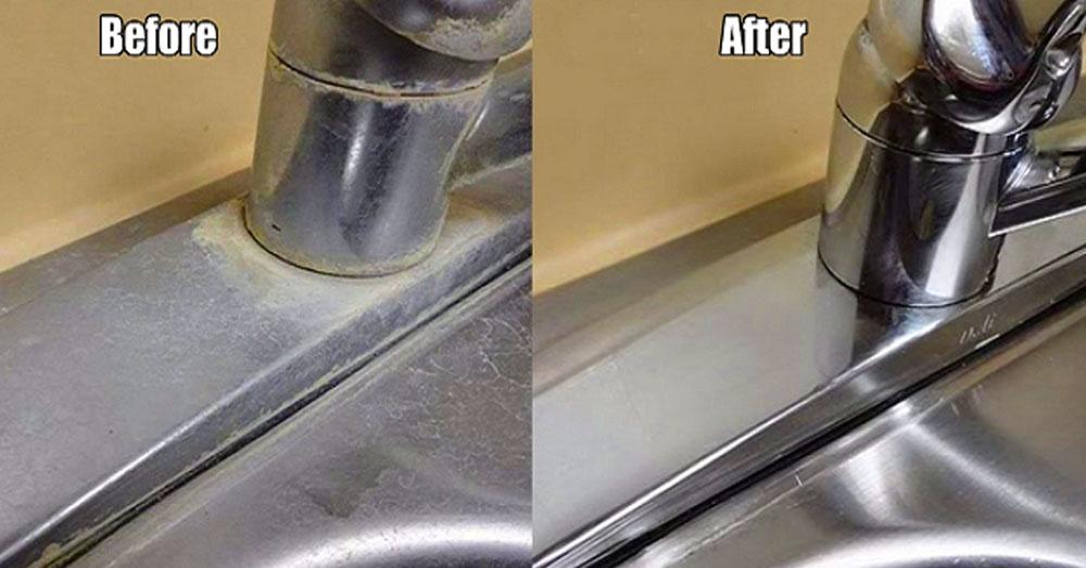 sink vinegar feature