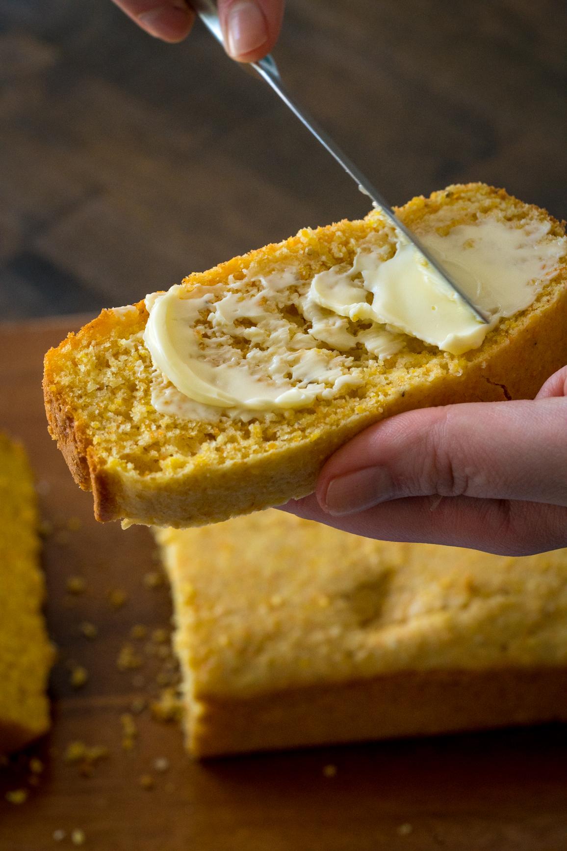 Amish Sour Cream Cornbread 9