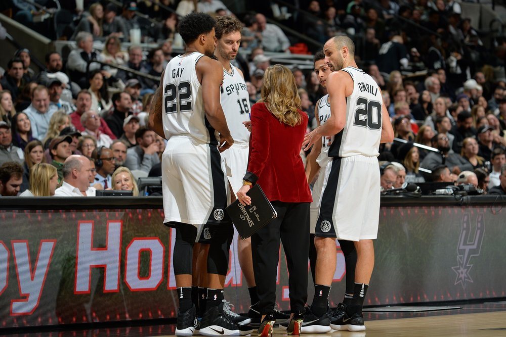 Becky Hammon has earned the respect of her peers and her players during her four years as a San Antonio Spurs Assistant Coach.